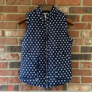 Stitch Fix | Pixley Polka Dot Puffer Vest